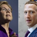 Zuckerberg, guerra a Warren su piano per smantellare Big Tech